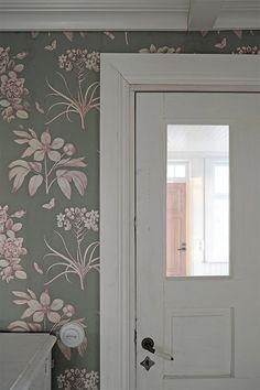 Sanderson etchings and roses Decor, Wall Decor, Interior, Balcony Doors, Wallpaper, Wall Murals, Beautiful Homes, Interior Wallpaper, Inspiration