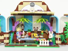 LEGO Ideas - Alice in Wonderland (Chapter Seven – A Mad Tea-Party)