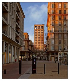 6414 - Le Havre Centre Region Normandie, Le Havre, France, Facade Architecture, Places Ive Been, Centre, Mid Century, Street View, Explore