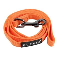 The Puppia Orange Two-Tone Dog Lead matches the best-selling Puppia Soft Harness in unparalleled style and quality. Made of 100% polyester, this authentic Puppia Two-Tone Dog Leash features inner and outer contrasting black and orange colors, a sturdy, ni
