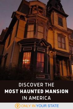 This chilling haunted mansion in Massachusetts may actually be dangerous to visit. While you can take a tour, you have to sign a waiver. The ghosts here are scary and violent. The spirits in this house have had tragic deaths, including murder, strangulation, and being burned alive. Paranormal investigators report chilling noises, smells, and shadow people. If you're feeling brave, spend the night. Overnight adventures are offered. Most Haunted, Haunted Places, Creepy, Scary, Shadow People, Exotic Places, Haunted Mansion, Ghost Towns, Chilling