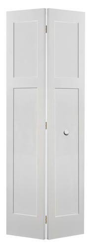 mastercraft 36 x 80 primed flat 5 equal panel stile and rail flat prehung interior door. Black Bedroom Furniture Sets. Home Design Ideas