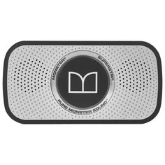 Monster Power Superstar High Definition Bluetooth Speaker (Black/Grey)-Ultra compact, Water-resistant - I was impressed by the quality of this, especially for t Audiophile Speakers, Bluetooth Speakers, Superstar, High Definition, Black Space, Star Wars, Cool Things To Buy, Stuff To Buy, Black And Grey