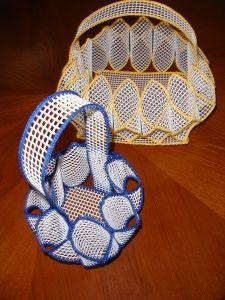 cute idea, crocheted edges