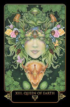 Blue Angel Publishing - Dreams of Gaia Tarot - Ravynne Phelan