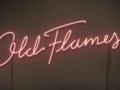 Got to do some neon for the new cover for Matt Wertz's album, Old Flames. Get a good preview of the record here: http://www.youtube.com/watch?v=vU7dcnR1fV4