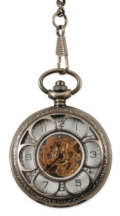 Well it's certainly time for this! Mechanical Pocketwatch - Pewter Sprockets