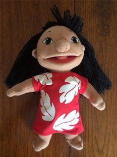 "Disney Lilo and Stitch 10"" LILO Plush Stuffed Doll"
