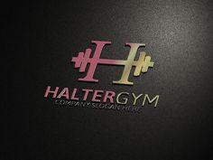 Halter Gym Logo by Josuf Media on Creative Market