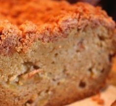 Easy apple bread recipe -- looks like bread, tastes like dessert