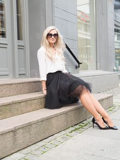 All time Favourite Outfit Simple Style, My Style, Work Wear, Outfit Of The Day, All About Time, What To Wear, Leather Skirt, Ballet Skirt, Classy