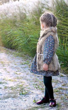 LET atumn BEGIN | Vivi & Oli-Baby Fashion Life- those little braids!