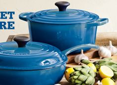New Le Creuset color ~ Marseille Blue