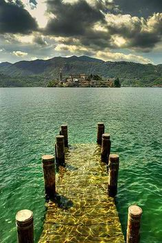 YES PLEASE! San Giulio, Italy.
