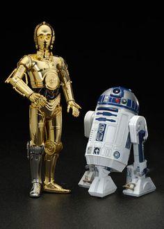 Star Wars: C-3PO & R2-D2 Art FX Statue