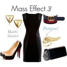 Fashion Post: Mass Effect FemShep Geek Fashion, Fashion Beauty, Fandom Fashion, Movie Inspired Outfits, Mass Effect 3, Casual Cosplay, Girls Be Like, Geek Clothing, Gucci Clothing