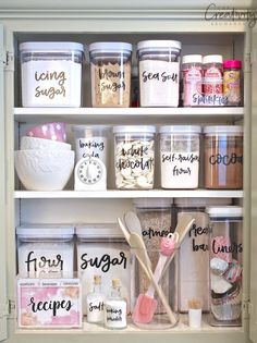 Home Organization Ideas is part of Easy home decor - Home Organization Ideas get organized at the start of this new year! From closet spaces, to the fridge, to the garage, there are plenty of awesome organization ideas to get you started! Home Organisation, Kitchen Organization, Organization Hacks, Organizing Ideas, Kitchen Storage, Garage Storage, Cleaning Cupboard Organisation, Organizing Kitchen Cabinets, Organization Ideas For The Home