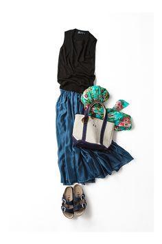 Kyoko Kikuchi's Closet l kk-closet Fashion Mode, Skirt Fashion, Urban Fashion, Daily Fashion, Spring Fashion, Fashion Looks, Fashion Outfits, Fashion 2017, Womens Fashion