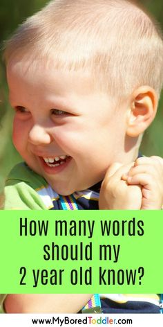 how many words should my 2 year old know - is my child talking enough? Do I need a speech therapist? Is my 1 year old saying enough words? when do children start talking in sentences? Your speech questions are answered here! Activities For 2 Year Olds, Toddler Learning Activities, Parenting Toddlers, Infant Activities, Parenting Tips, Foster Parenting, Language Activities, Preschool Activities, Toddler Language Development