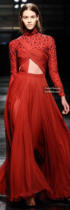 The Best Gowns of Fall 2014 Fashion Week International: Prabal Gurung FW 2014 #NYFW