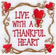 A thankful heart is a happy heart :) I Love Heart, With All My Heart, My Love, Thankful Heart, Happy Heart, Live Happy, Brave, Attitude Of Gratitude, Give Thanks