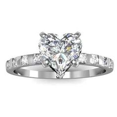 When deciding your engagement ring which shape do you prefer? What features in engagement rings diamond shapes moves? Heart Shaped Diamond Ring, Heart Shaped Engagement Rings, Engagement Rings For Men, Diamond Engagement Rings, Heart Jewelry, Fine Jewelry, Heart Rings, Jewellery, Cute Rings