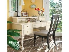 Shop+for+Paula+Deen+by+Universal+Letter+Writing+Desk,+996470,+and+other+Home+Office+Desks+at+Blockers+Furniture+in+Ocala,+FL.+You+are+invited+to+make+yourself+at+home.+In+case+you+don't+know+who+I+am,+I'm+a+girl+with+this+philosophy+-I+like+to+treat+my+family+like+company+and+I+like+to+treat+my+company+like+family+which+has+inspired+this+whole+line+of+furniture.