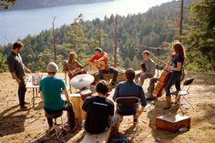 Music Jar Manson, el paisaje como estudio de grabación : EL ASOMBRARIO & Co.