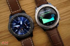 While the Gear might not be an Android Wear smartwatch, it arguably stole the show where wearables were concerned during this year's IFA trade show. Android Wear Smartwatch, Android Watch, Best Watches For Men, Cool Watches, Bluetooth Watch, Sport Watches, Gps Watches, Beautiful Watches, Men's Watches