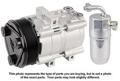Premium Quality New Ac Compressor & Clutch With A/C Drier For Vw Vanagon - BuyAutoParts 60-86725R2 New
