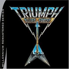 Triumph - Allied Forces [CD New] #triumph