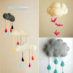 Små søde regnvejrskyer