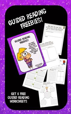 Dragon's Den Curriculum: Guided Reading…How About A Freebie? Get five sheets to use as you differentiate your guided reading groups!