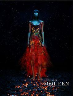 Alexander McQueen S/S 2003 Ad Campaign by Steven Klein