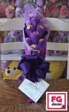 7pc Purple Themed Chocolate