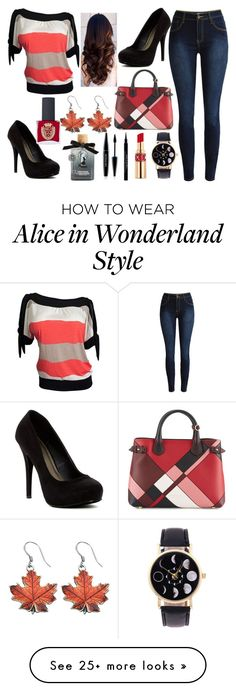 """""""#1213 Casual"""" by arasshjit on Polyvore featuring Michael Antonio, Burberry, Yves Saint Laurent, Givenchy, MAKE UP FOR EVER, Torrid, ncLA and casualoutfit"""
