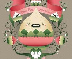Design symmetrical character art