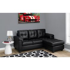 Create a space your friends and family will love with the Monarch Specialties Bonded Leather Sofa Lounger . The soft tufted cushions with double-stich. Bonded Leather, Leather Sofa, Sofa Italia, Home Bar Furniture, Italian Sofa, Retro Sofa, Pink Sofa, Classic Sofa, Luxury Sofa