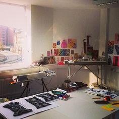 A sunny day in the cari + carl studio! www.cariandcarl.com