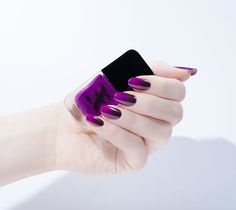 Stunning Ombré nails for #KVDvsFormulaX - LUV blended with Piaf