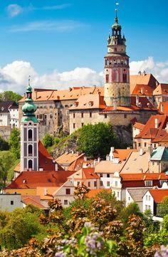 Stunning Český Krumlov, Czech Republic.