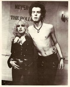 Sid Vicious and Nancy Spungen)