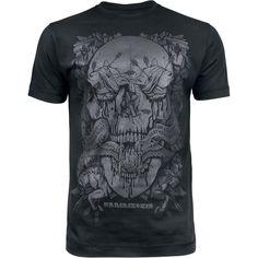 """Classica T-Shirt uomo nera """"Amour"""" dei #Rammstein con scollo tondo e ampia stampa frontale."""