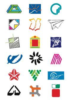 Raccolta di marchi progettati dal 1982