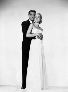 Cary & Grace in To Catch A Thief. Hitchcock.