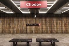 This Woman Took a Picture of Every Prague Subway Station in Just One Day