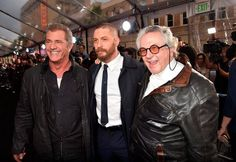 Tommy & George Miller & Mel Gibson - Mad Max: Fury Road (2015) Premiere - LA May 7th 2015 / TH0053