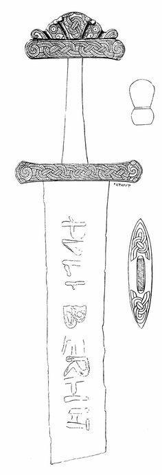 Viking Sword Tattoo, Handmade Knives, Dark Ages, Heavy Metal, Weapons, Scandinavian, Hunting, Arms, Steel
