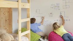 Dry erase board paint that goes on clear over anything... turn anything into a dry erase board... MUST HAVE!