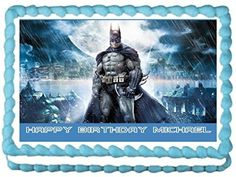 Batman Edible Frosting Sheet Cake Topper  14 Sheet *** Want to know more, click on the image.
